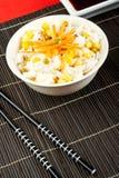 Salade van rijst stock fotografie