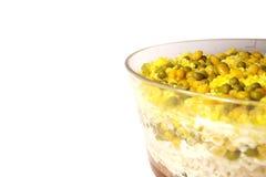 Salade van rijst, erwten, graan Royalty-vrije Stock Foto's