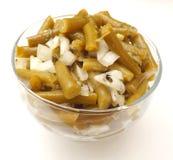 Salade van slabonen Royalty-vrije Stock Afbeelding