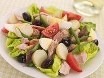Salade van Tonijn Nicoise Stock Afbeeldingen