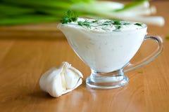 Salade van verse greens royalty-vrije stock foto's