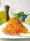 Salade van wortelen 5 Royalty-vrije Stock Foto