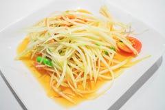 Salade verte de papaye Photos libres de droits