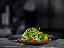 Salade verte de ressort frais Photographie stock libre de droits