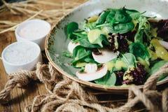 Salade verte fraîche Images libres de droits