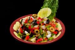 Salade verte mélangée Image libre de droits