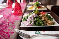 Salade - voorgerecht stock afbeelding