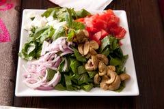 Salade - voorgerecht stock fotografie