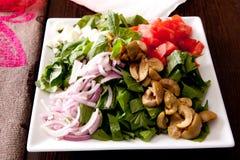 Salade - voorgerecht royalty-vrije stock foto