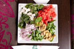 Salade - voorgerecht stock foto's