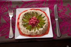 Salade - voorgerecht stock foto