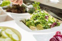 Saladebar Stock Foto