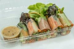 Saladebroodje Royalty-vrije Stock Afbeeldingen