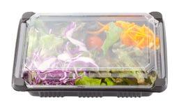 Saladedoos Royalty-vrije Stock Foto's