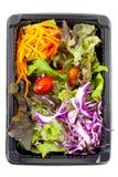 Saladedoos Royalty-vrije Stock Afbeeldingen