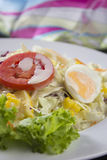 Saladegroenten Royalty-vrije Stock Foto