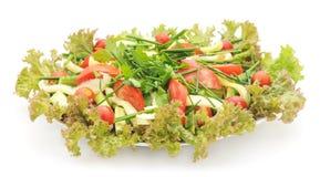 Saladegroenten Stock Afbeeldingen