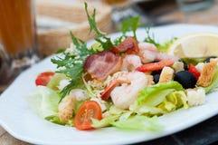 Saladeplaat Royalty-vrije Stock Foto's