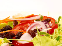 Salades Photographie stock