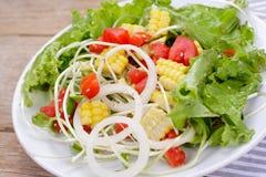 salades photographie stock libre de droits
