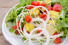 salades photographie stock