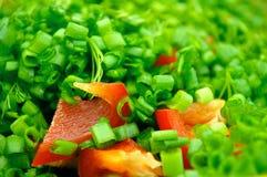 Salades d'été Photographie stock