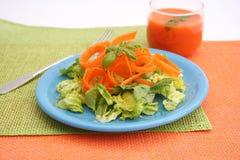 Salades fraîches Photographie stock