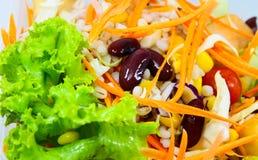 Salades, groenten. Royalty-vrije Stock Foto's