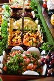 Salades saines Images libres de droits