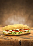 Saladesandwich Stock Afbeeldingen