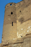 Saladin citadel tower Royalty Free Stock Images
