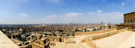 Saladin-Zitadelle Lizenzfreie Stockfotos