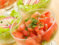 Salads Royalty Free Stock Photos