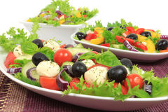 Salads Royalty Free Stock Image