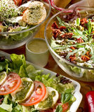 Salads Royalty Free Stock Images