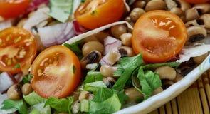 Senegals Black-eyed Pea Salad. Saladu Nebbe - Senegal's Black-eyed Pea Salad Stock Image