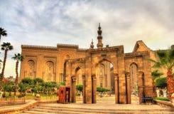 Salah编辑声浪街道:在Al Rifai清真寺和苏丹之间的段落 免版税库存图片