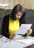 salaire de factures à image libre de droits