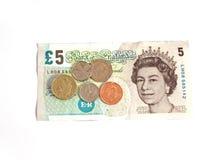 Salaire minimum national BRITANNIQUE £6.31 Photo stock