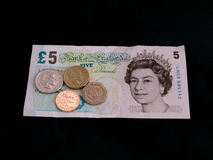 Salaire minimum national BRITANNIQUE £6.31 image stock