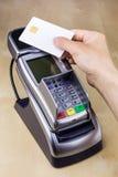 Salaire sans contact de carte à puce Image stock