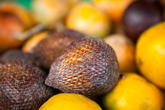Salak fruit on a market Stock Photos