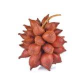 Salak fruit, Salacca zalacca  on white background Stock Photography