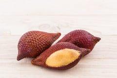 Salak Palm fruit, tropical fruit. Stock Photos