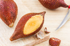 Salak Palm fruit, tropical fruit. Stock Photos