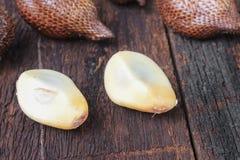 Salak, Sala, Palm Closeup, Asian fruit stock photography