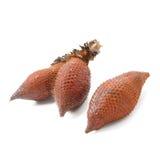 Salak snake fruit isolated on white background Stock Photography