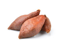 Salak snake fruit isolated on white background Stock Images