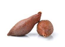 Salak snake fruit isolated on white background Royalty Free Stock Photography