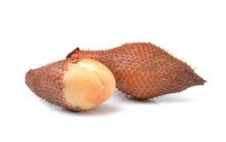 Salak snake fruit isolated on white background Royalty Free Stock Image
